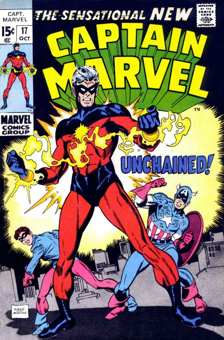Captain Marvel (1968) Issue #17 - Read Captain Marvel (1968) Issue #17 comic online in high quality
