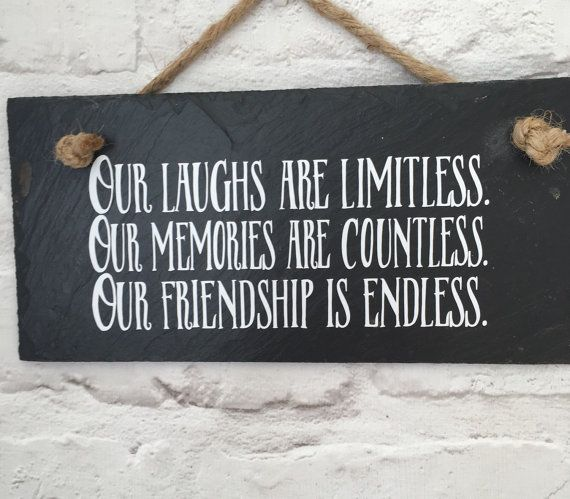 Best friend gift Friendship quote Gift for friend Hanging