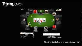 Titan Poker is the flagship room on the iPoker network with a great international feel, solid software and slick 24/7 action. We offer some of the best promotions in the business with aggressive promotions for new players such as our 200% welcome bonus of up to $2000. We also have the fantastic Titan Rewards program which has huge bonuses for both casual and experienced players.