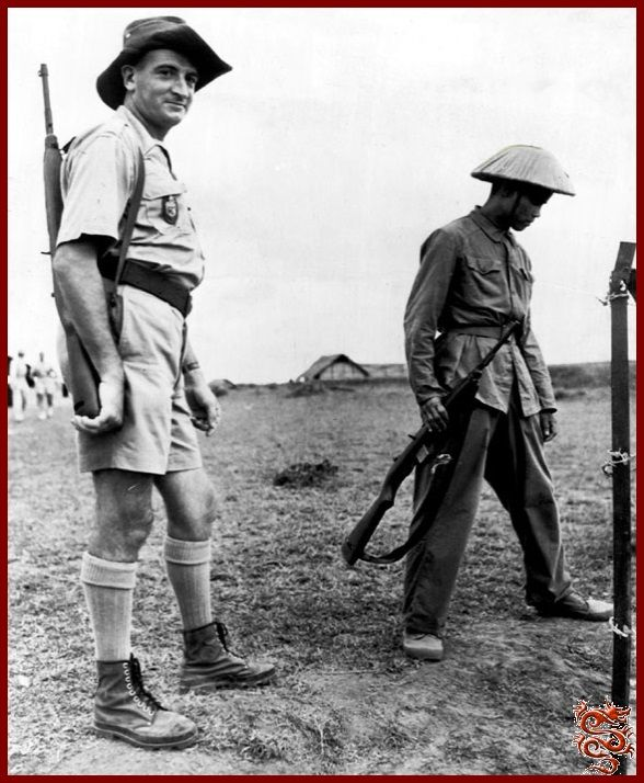 french colonial gendarmes and vietminh