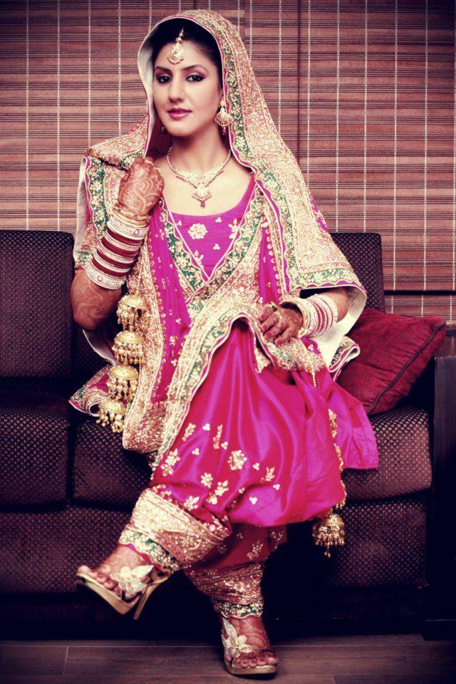 Punjabi Girls In Wedding Dress | www.pixshark.com - Images ...