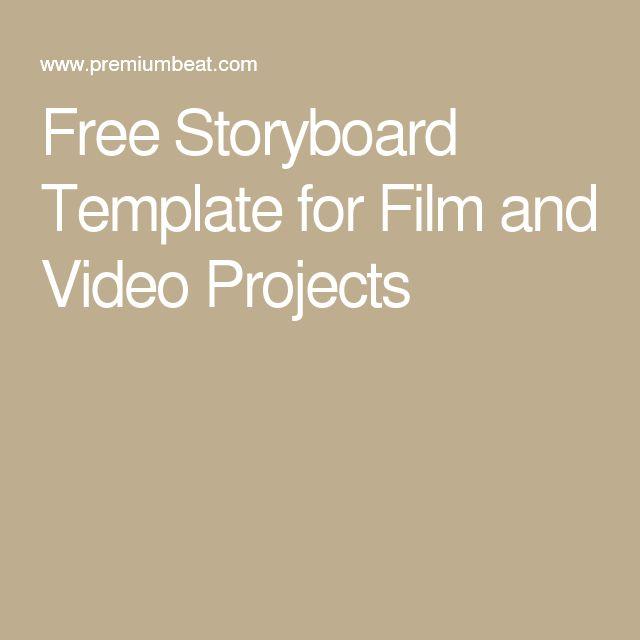 Best  Storyboard Template Ideas On   Great Powerpoint