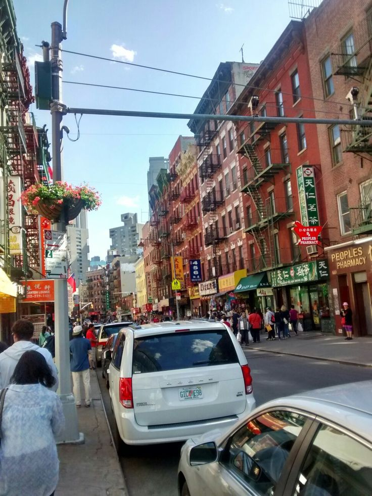 Barrio chino NYC