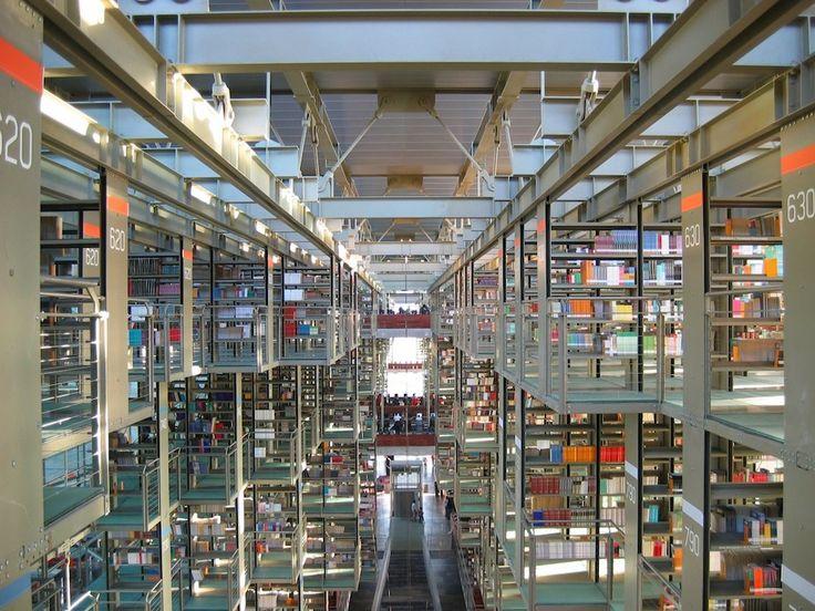 IlPost - Biblioteca José Vasconcelos, Messico - Biblioteca José Vasconcelos, Città del Messico, Messico (Foto: Clinker)