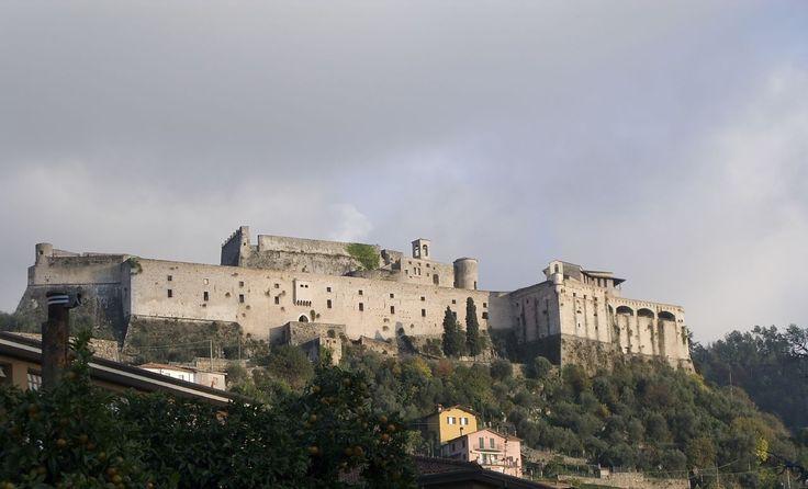 Malaspina Castle, Massa, Toscana, Italia