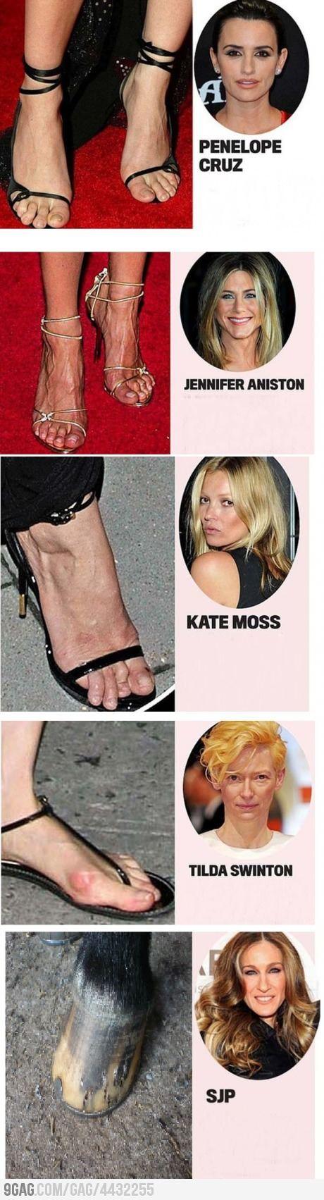 Celebrity feet magazine faces fashion and 77