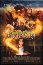 Inkheart Movie Poster 27x40 Used Matt King, Chuen Tsou, Paul Bettany, Stephen Modell, Jamie Foreman, Sienna Guillory, Stephen Graham, Brendan Fraser, Helen Mirren, Lesley Sharp, Andy Serkis, Steve Speirs