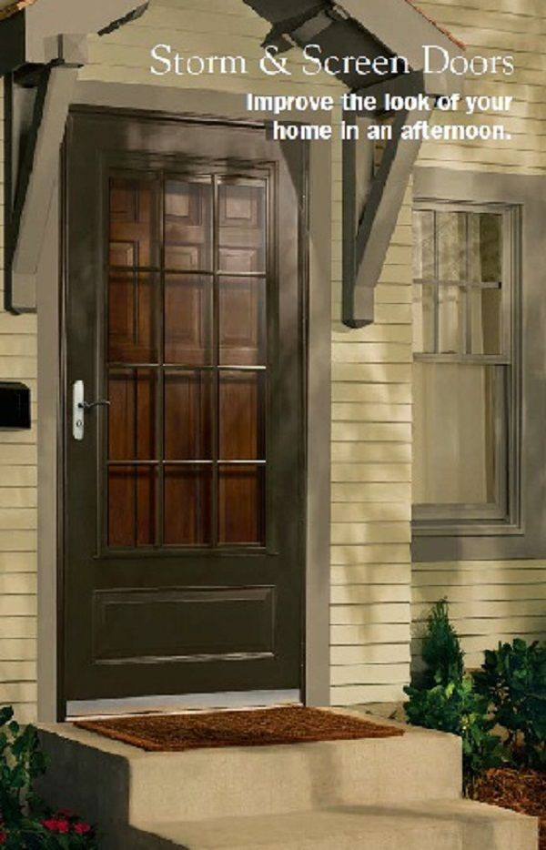 17 best pella storm doors images on pinterest storm for Front door with storm door
