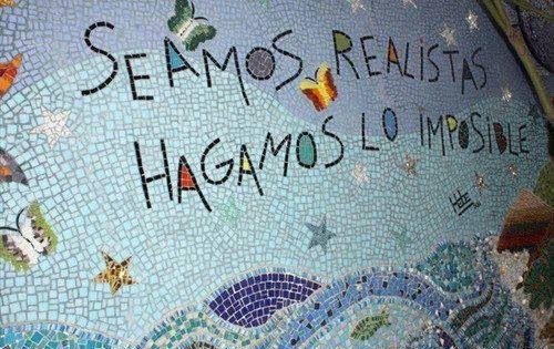 """〽️Frase de Ernesto """"Che""""Guevara Hagamos lo imposible..."""