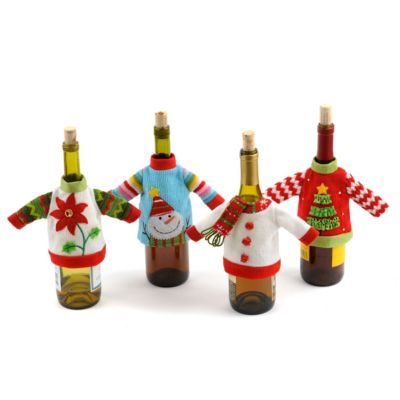 """Tacky Sweater Bottle Cover 