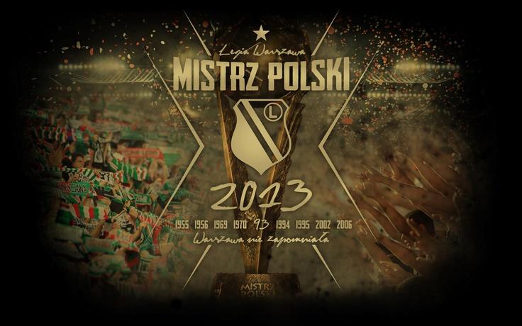 LEGIA WARSZAWA ZDOBYWCA MP I PP 2012/2013 !!!:)