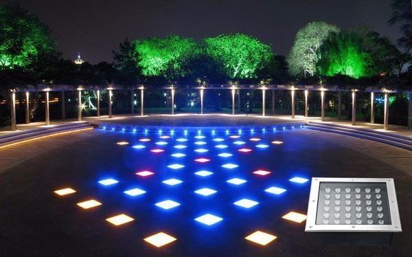 Projecteur De Terrasse Ip67 En Inox Excellente Qualite Ce Projecteur Fera Des Merveilles Pour Mettre En Valeur Votre Jardin Pis Projecteur Exterieur Terrasse