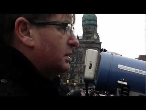 Willie Frazer On Another Peaceful Rally At Belfast City Hall...