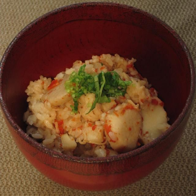 海老芋を使った炊き込みご飯です。 - 19件のもぐもぐ - 圧力鍋で作った、海老芋と貝柱のご飯 by Wonder chef