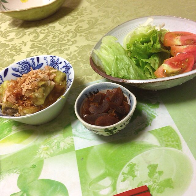 Dinner at my mum's house on July 16th 2014. 1/3