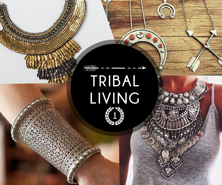 Let us take a tour through 4 free spirited tribal living and the first thing to explore is metal accessories with intrigue designs which are out of the ordinary. #TribalMix #SS15 #FreeSpirit