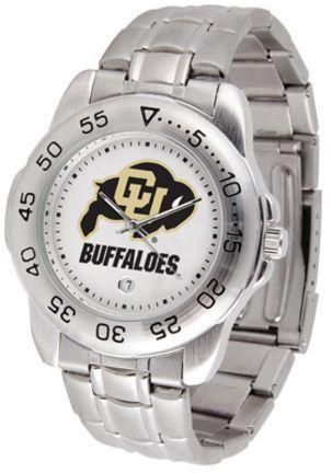 Colorado Buffaloes Sport Steel Band Men's Watch