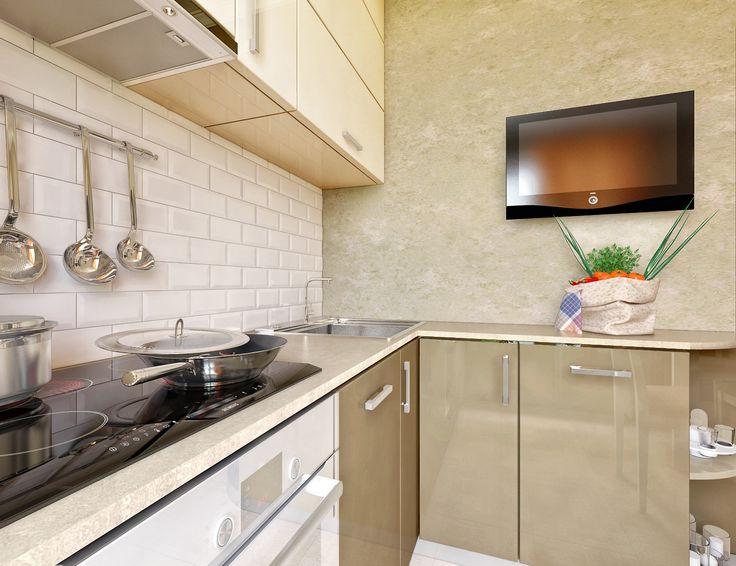 маленькая кухня тонкости оформления