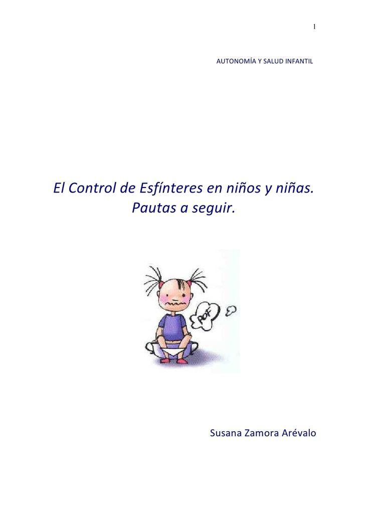 Control de esfínteres en niños.pautas
