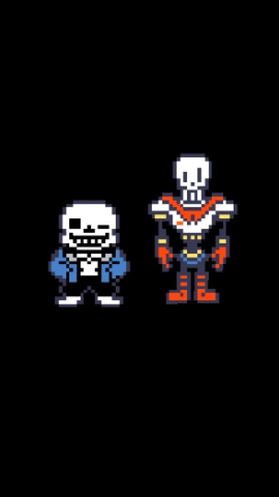 Who Was Your Favorite Skeleton Bro Sans Or Papyrus Undertale Iphone Wallpaper Iphone Wallpaper Undertale Tumblr Iphone Wallpaper Iphone Wallpaper