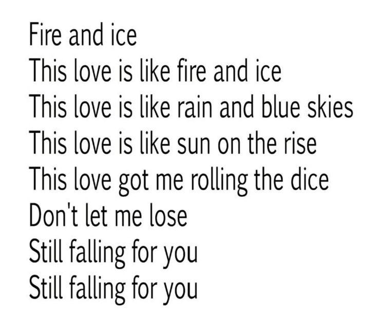 Still falling for you - Ellie Goulding