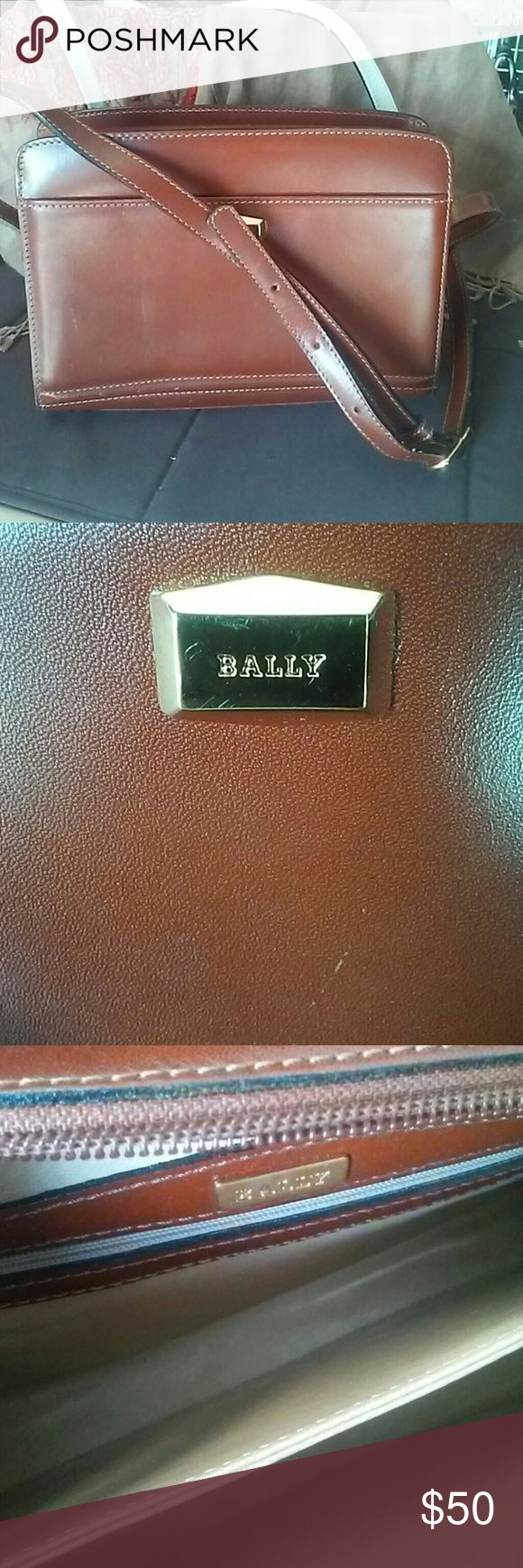 Bally Crossover Bag Good condition, clean inside and out, very nice leather Bally Bags