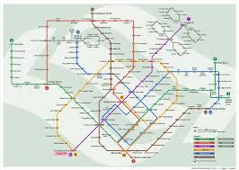 Don't forget to take this MRT & LRT system map to travel around Singapore.