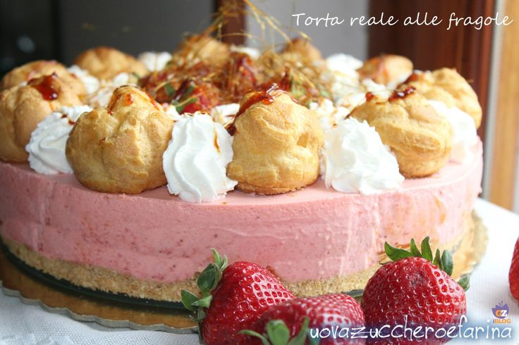 Torta reale alle fragole