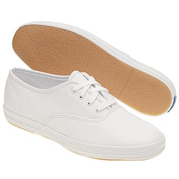 girls keds slip ons white canvas