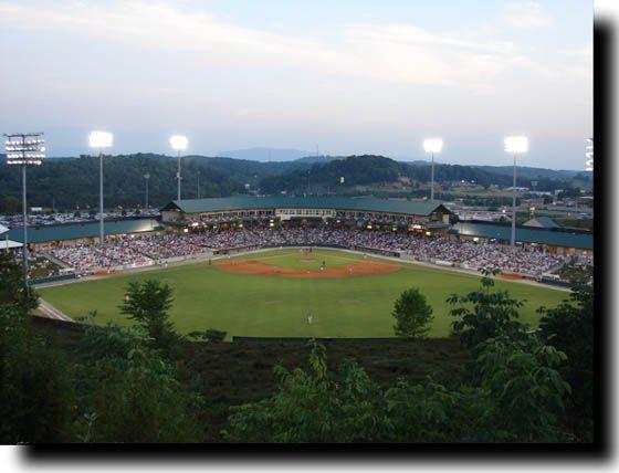 Tennessee Smokies Baseball~ Love a good game of Baseball
