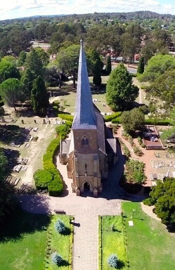 St John's Church in Canberra, Australia. Consecrated in 1845.