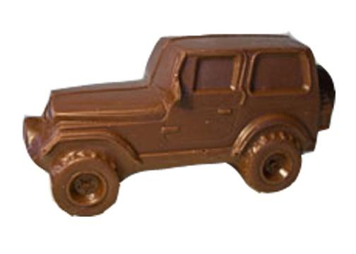 Chocolate Jeep Wrangler