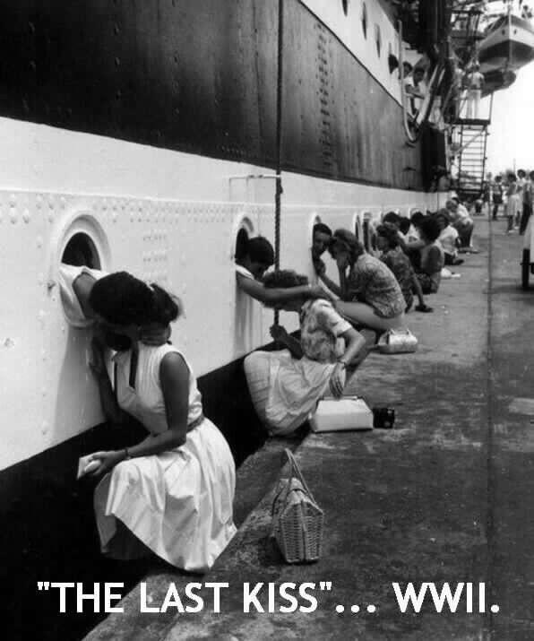 Last kiss WW2