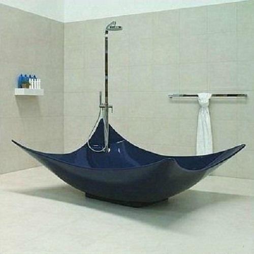 Необычные дизайнерские ванны