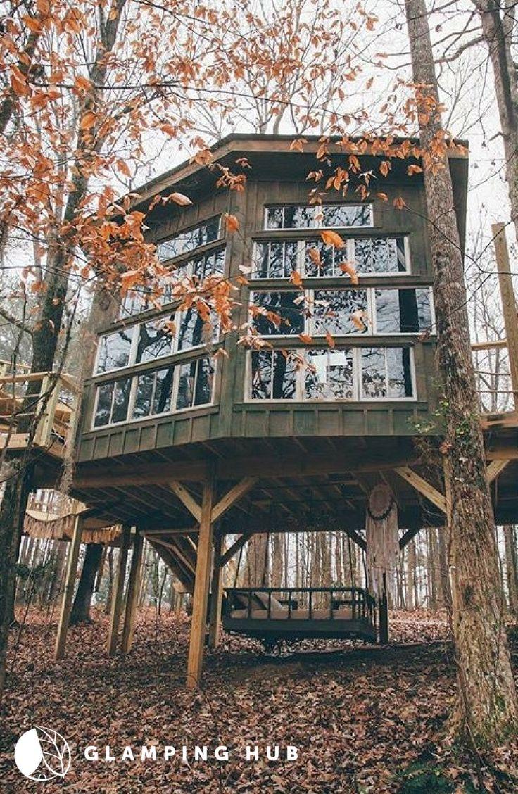 Luxury Tree House Al And Retreat In Walhalla South Carolina
