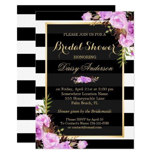 297 best Purple Black Damask Wedding Invitations images on Pinterest