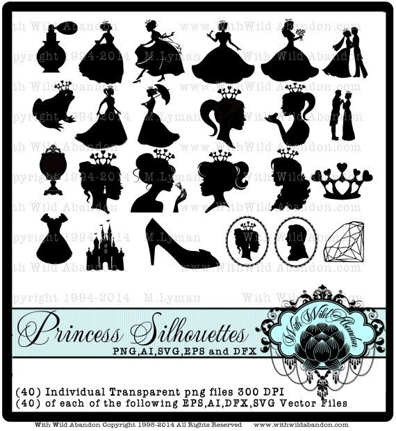 Princess Clipart, Royal Princess SVG, Princess Birthday Party, ai, png, dxf, eps, horse and carriage, diamond