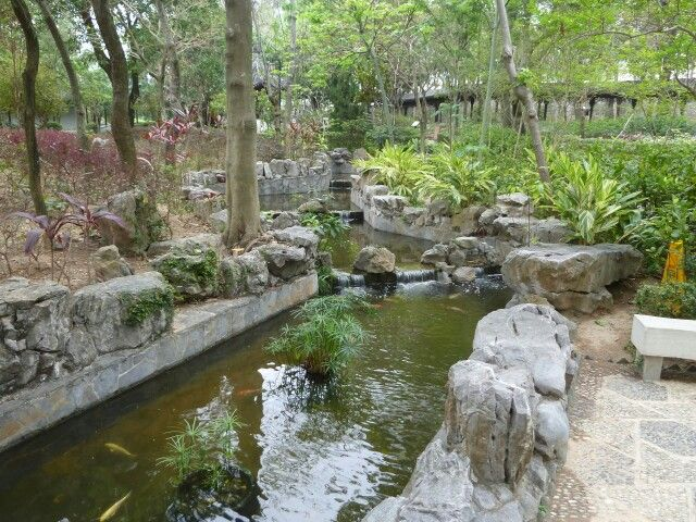 mytripadvice: Hong Kong The park area in the Walled City of Kowloon