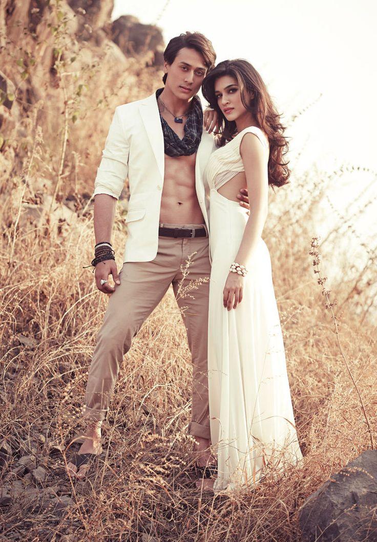 Heropanti Tiger Shroff and Kriti Sanon