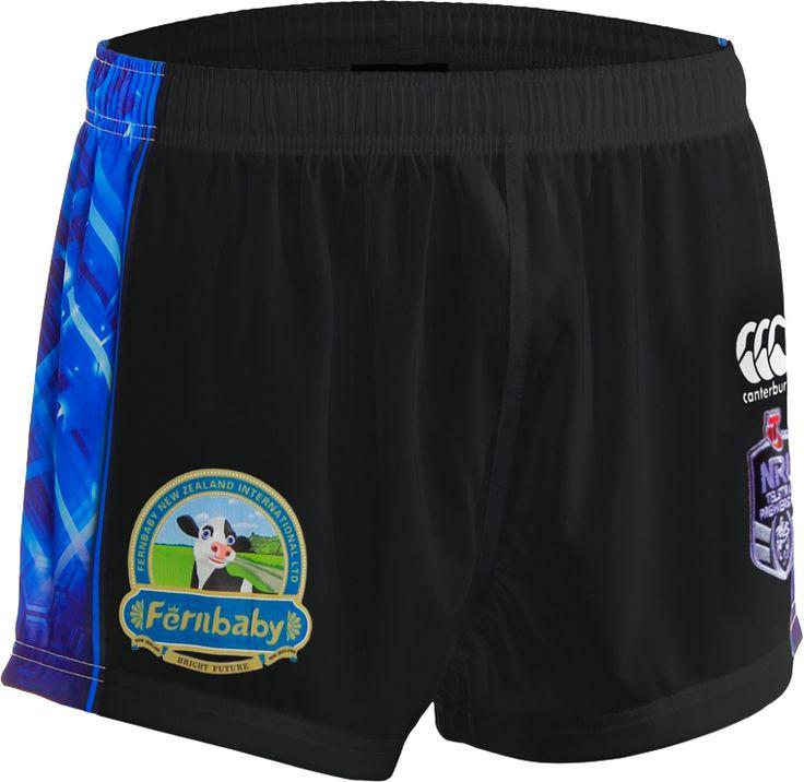 2014 Vodafone Warriors Eden Park Shorts #WarriorsGear #WarriorsForever #NRL #Shorts Go to www.warriorsstore.co.nz