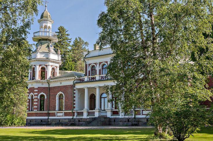 Inha manor Pytinki, Ähtäri, South Ostrobothnia province of Western Finland. - Etelä-Pohjanmaa.