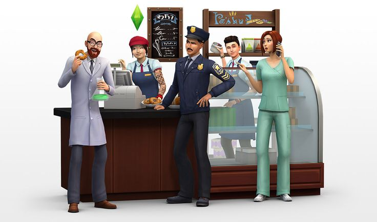 The Sims 4 Get To Work: New Render!