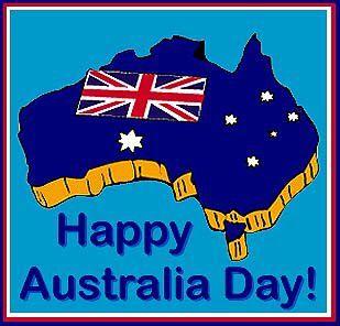 Happy Australia Day to all my Aussie friends!