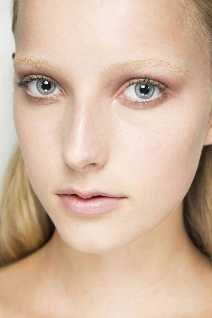 blonde eyebrows - givenchy - spring 2016 ready-to-wear ...