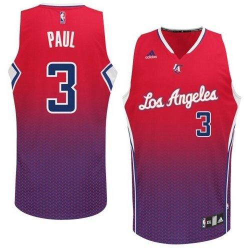 9f8ba9f38bf6 Clippers  3 Chris Paul Red Resonate Fashion Swingman Stitched NBA Jersey