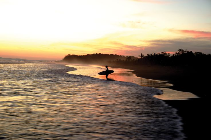 Some say Panama is the only place in the world where you can see the sun rise on the Pacific and set on the Atlantic. How convenient that there's good surf too. Photo: Morgan Maassen