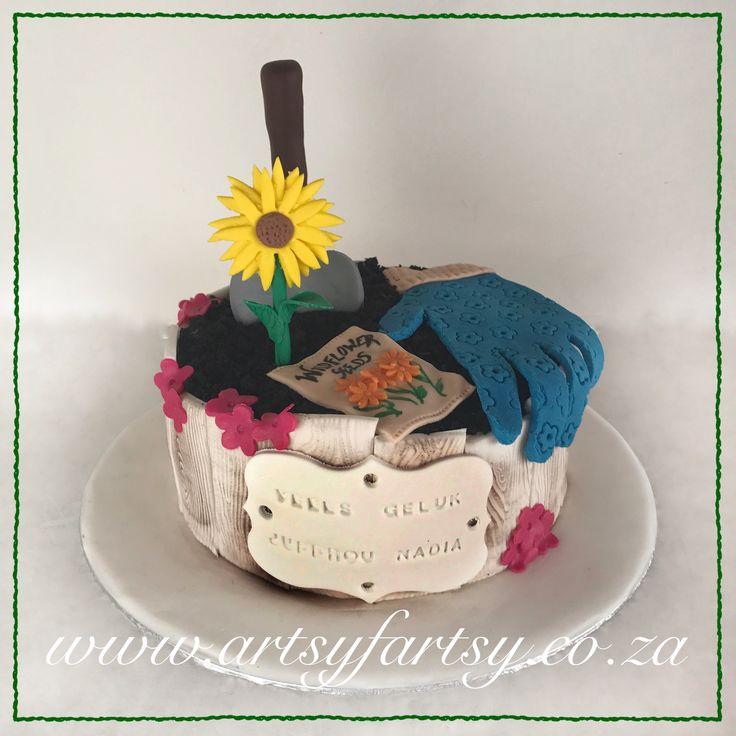 Gardening Cake #gardeningcake