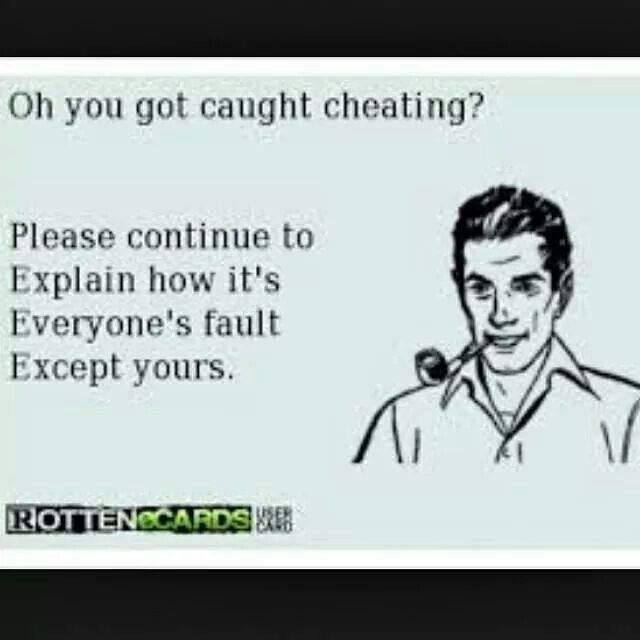 My husband is a cheating narcissist