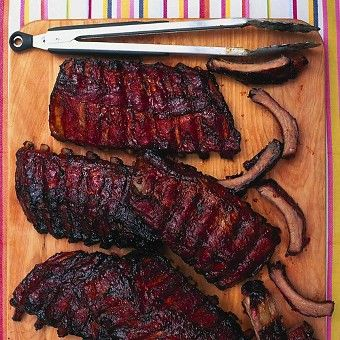 Applewood-Smoked, Cider-Steamed, Dry-Rubbed Ribs