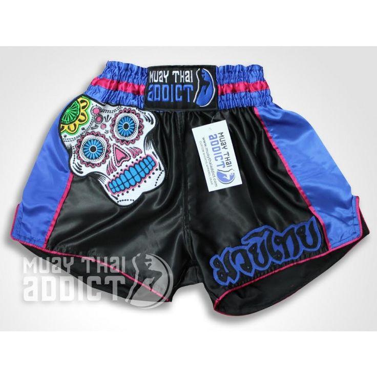 Dia De Los Muertos Muay Thai Shorts